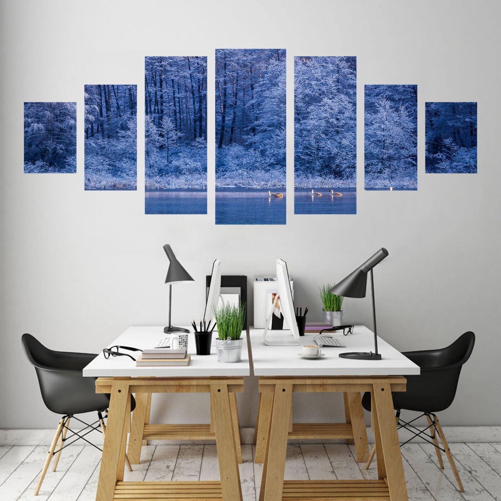 3D Forest Night 76 Unframed Print Wall Paper Decal Wall Deco Indoor AJ Jenny