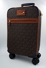 MICHAEL KORS Trolley, Koffer, Reise Tasche, Leder, Braun, Signature Uvp: 595Euro