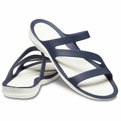 Crocs Women´s Swiftwater Sandal Damen Sandale Badelatsche 203998   eBay