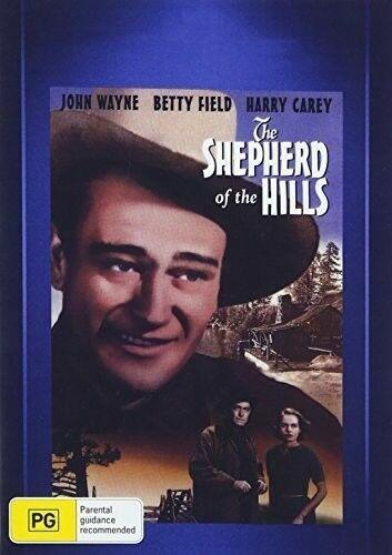 The Shepherd of the Hills DVD John Wayne New and Sealed Plays Worldwide NTSC 0