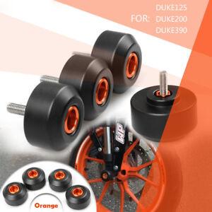 KTM-Duke-125-200-390-2012-2018-Gabel-Schwingen-Sturzpads-Crashpads-Schleifschutz