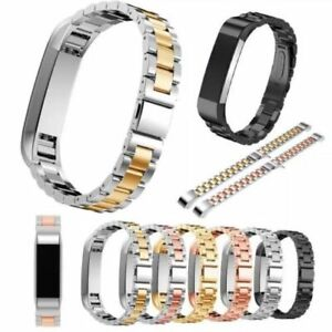 Stainless-Metal-Watch-Wristband-Band-Strap-Bracelet-For-Fitbit-Alta-Alta-HR