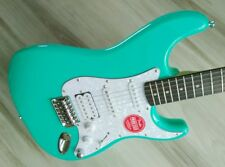 Fender Stratocaster Guitar TurboCharged w/ Blender MOD Seafoam Squier Strat DEMO
