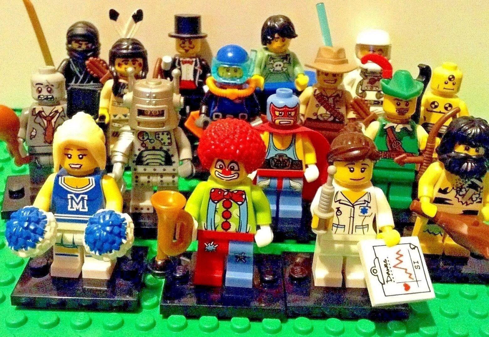 Lego Minifigures Serie 1 - 8683 Afferra il Tuo - Ottime Condizioni Infermiera