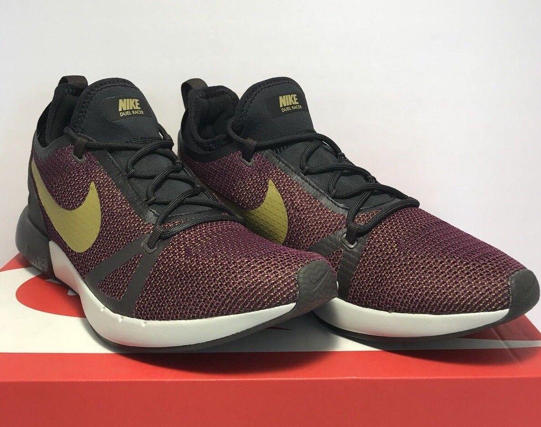 fe2954eca228 Nike Mens Mens Mens Size 8.5 Duel Racer Duelist Bordeaux Lifestyle Athletic  Running Shoes 45c4fc