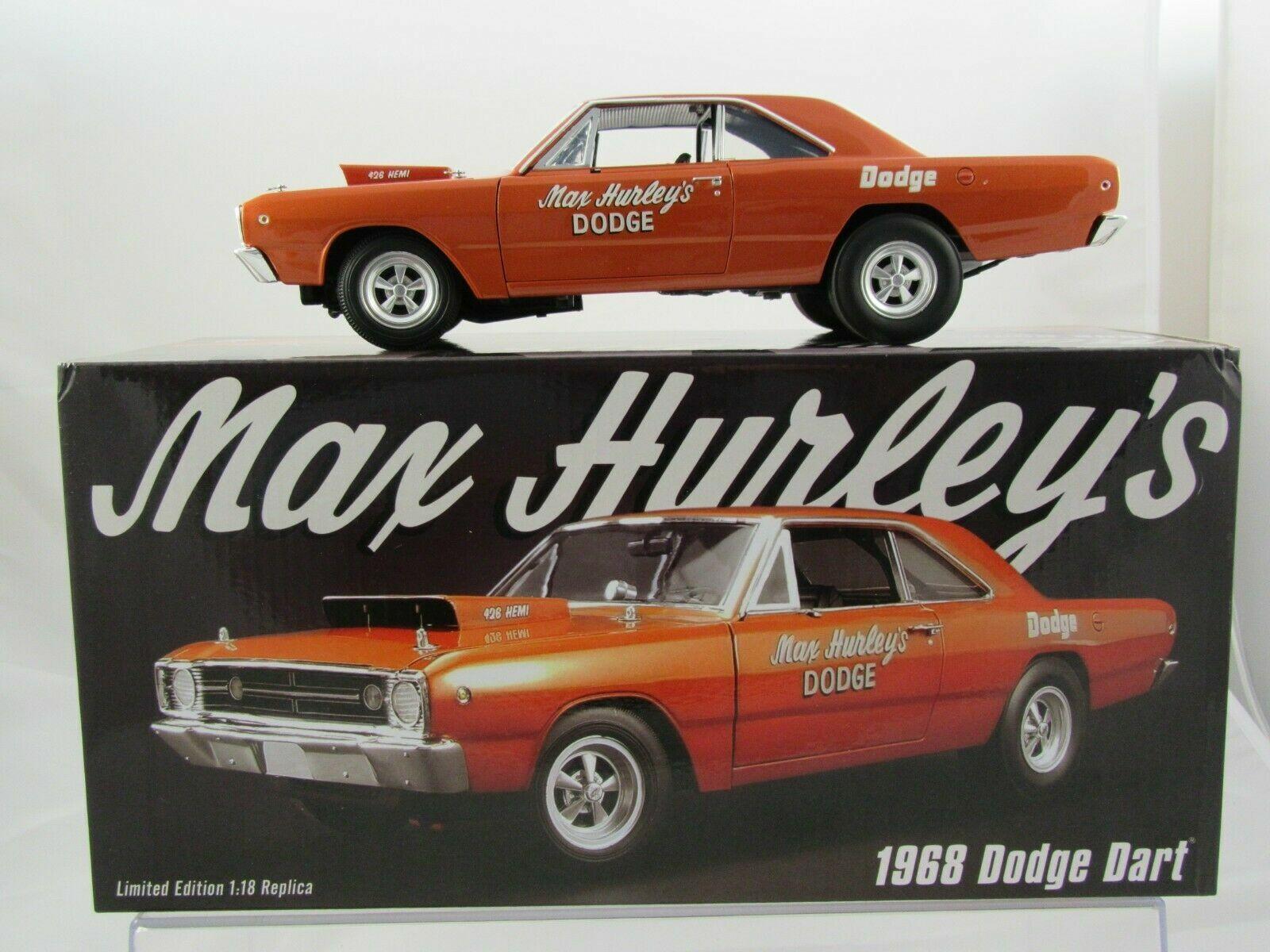 1 18 GMP ACME a1806401 - 1968 Dodge Dart MAX Hurley Lmtd. Edition 1 di 582