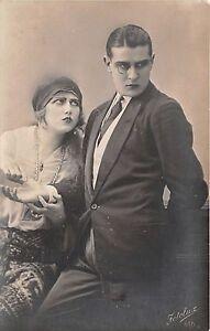 Cartolina-Postcard-Innamorati-Coppia-Arrabbiati-monocolo-anni-039-20