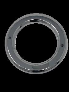 "Flush Mount For Standard 4/"" Stop Tail Turn Lights ABS 4/"" Round Chrome Bezel"