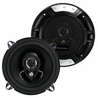 2) Renegade Rx52 5.25 160 Watt 2-way Car Audio Coaxial Speakers Stereo on sale