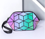 Hot-Geometric-Drawstring-Backpack-Women-Holographic-Laser-Leather-Travel-Casual thumbnail 62