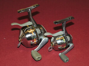 2 Shakespeare Synergy Titanium Trigger Spincast Reels, Microspin & 10U, Work Grt