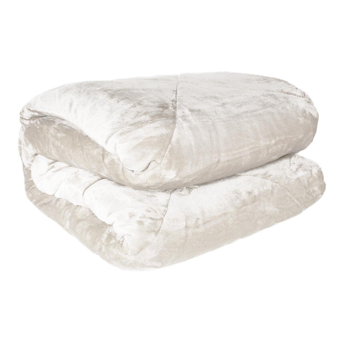 Quilt Luisa duvet Modern Double Winter Soft fur cream