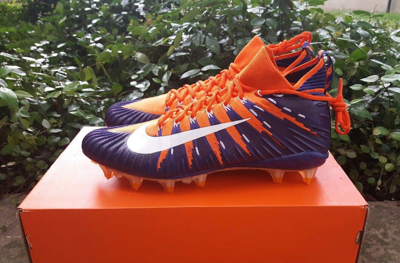 2e53c5ea79f Men NIKE Size 11 ALPHA MENACE ELITE FOOTBALL CLEATS orange Clemson 877141  815