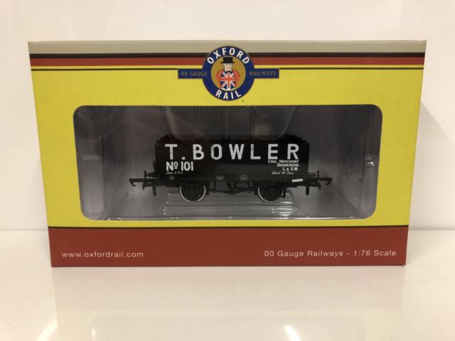 Oxford Rail OR76MW5001 T Bowler London No 101 5 Plank Mineral Wagon 00 Gauge