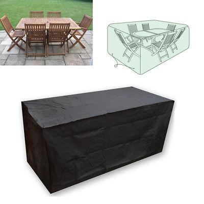 Funda Cubierta Impermeable Polvo Para Juego De Mueble Patio Jardín Mesa Silla Es