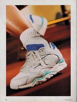regional Digno negar  1992 NIKE AIR Cross Trainer Magazine Print AD ( 2-pg )   eBay