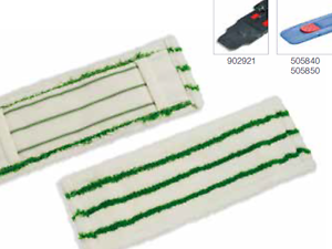 Numatic NuTex MicroStar ST 40 cm Microfaser-Borstenbezug Mikrofaser Mop Mopp