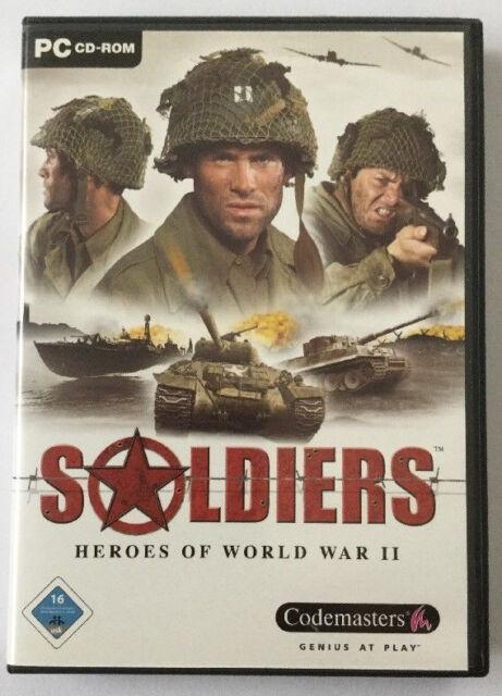 Soldiers - Heroes Of World War II (PC, 2004, DVD-Box)