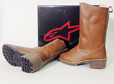 STIVALI IN CUOIO Alpinestars CAMARGUE Leather Boot con Tacco