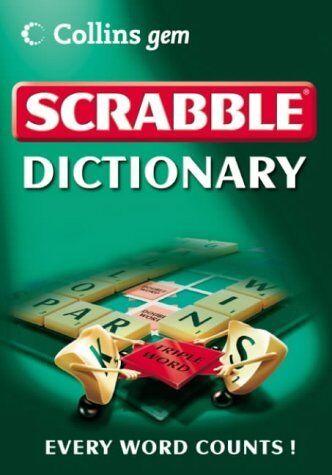 (Good)-Collins Gem - Scrabble Dictionary (Paperback)--0007191561