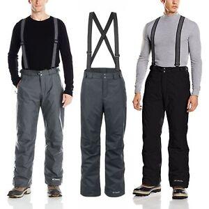 a6de1d47 Detalles acerca de Columbia Para Hombre Bugaboo Omni-Heat suspender aislado  Pantalón de Invierno, S/M/L/XL -! nuevo con etiquetas!- mostrar título ...