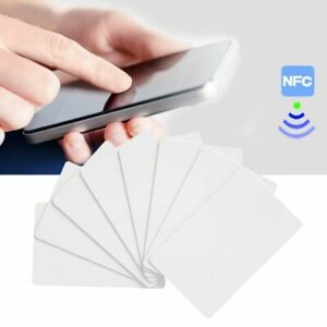 10PCS-NFC-NTAG215-White-Card-For-TagMo-Tags-Chip-Lable-Forum-Type2-Stickers-New