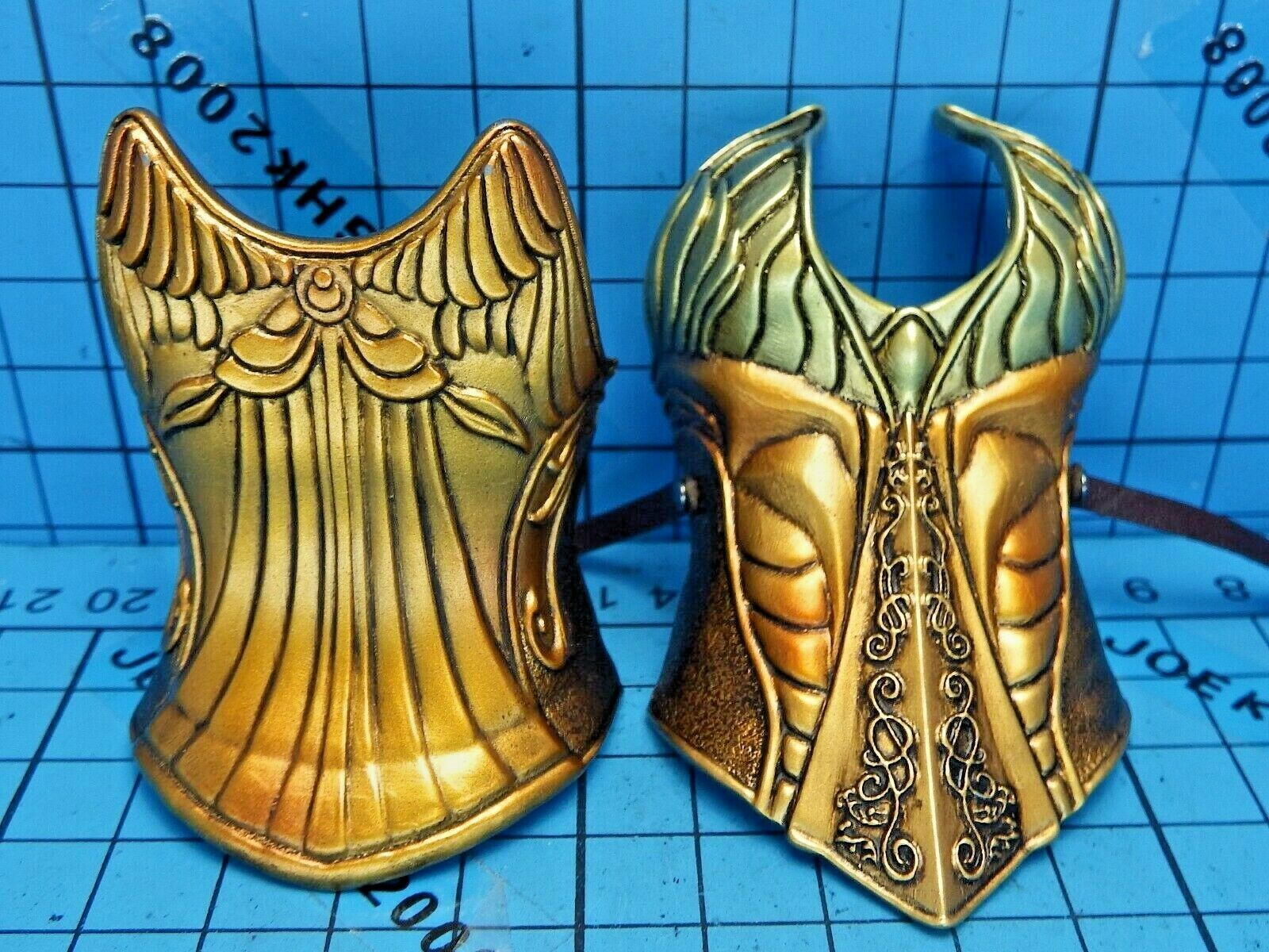Coomodel X Homer HS001 panteón Athena Sabiduría figura-armadura de metal en el pecho-cintura