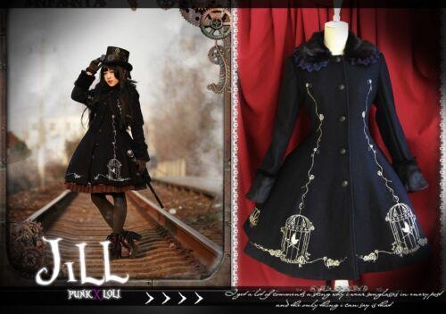 Great R Diary Hall Goth Of Woolen Coat Ji1003 Lolita Princess Nightingale Gentry qZgwtf