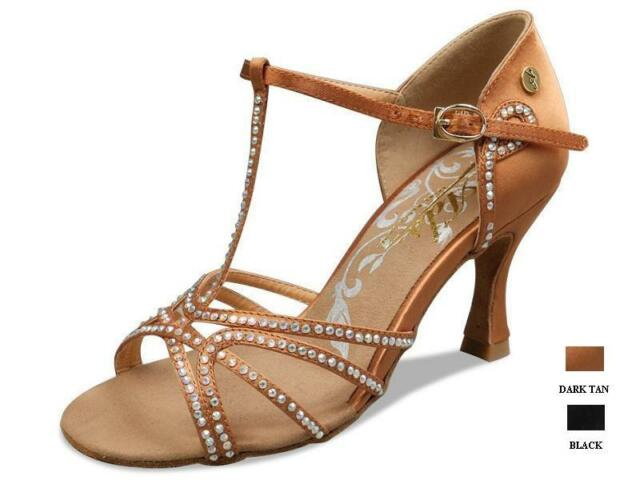 """2.5"""" and 3"""" Deluxe Ballroom Latin Shoes"""