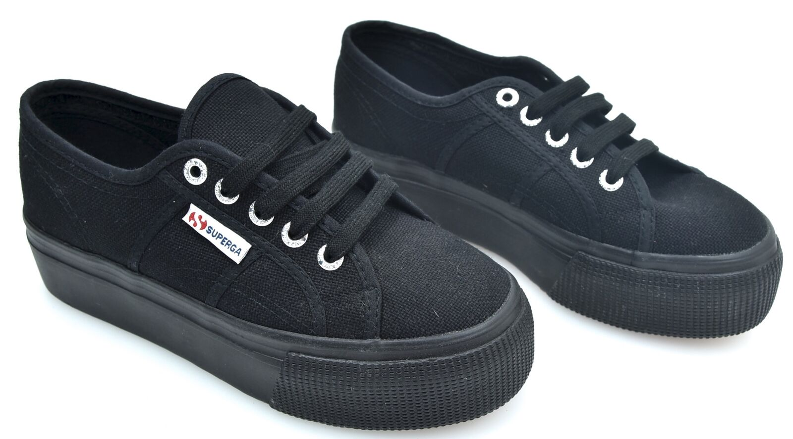 SUPERGA WOMAN SNEAKER SHOES WITH WEDGE CODE 20001L0 2790ACOTW LINEA UP AND DOWN