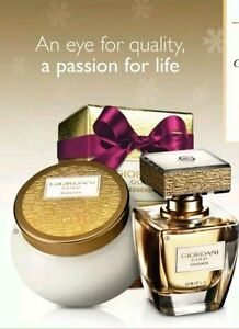 Oriflame Giordani Gold Essenza Parfum Body Cream Set New Great