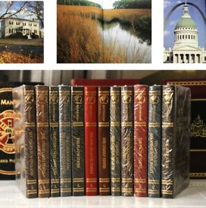 HISTORIC AMERICA - SMITHSONIAN GUIDE - Easton Press - MOSTLY SEALED!