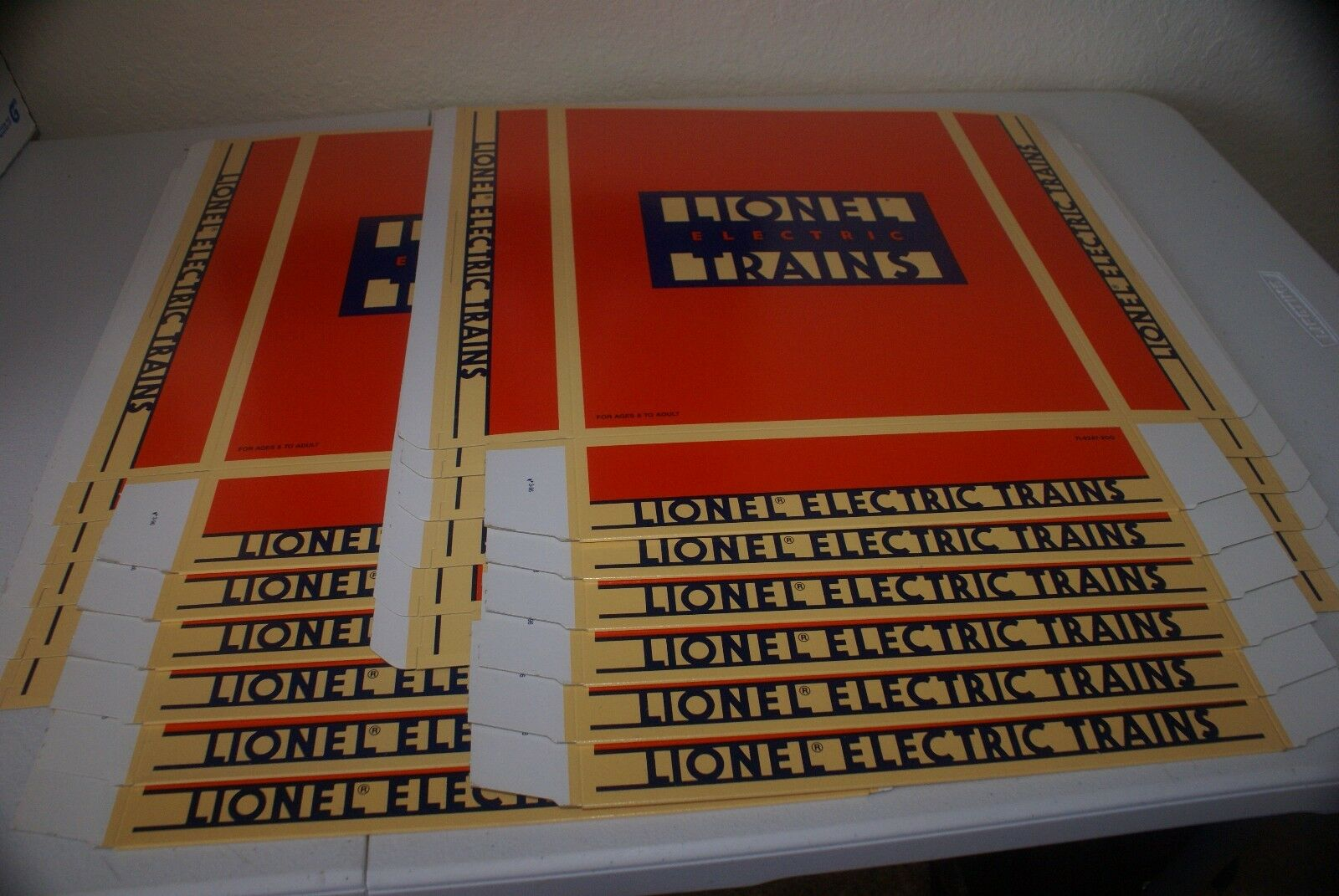 LIONEL EMPTY BOX LOT 13.5x11.5x2.5   SHIPS FREE