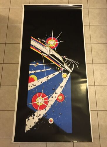 Asteroids Arcade Side Art Artwork Decal Overlay Midway