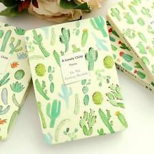 """Lonely Child"" 1pc Plants Diary Lined Blank Planner Hard Cover Notebook Journal"