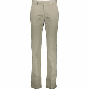 ARMANI-COLLEZIONI-Men-039-s-Chino-Trousers-Pants-Light-Khaki-W31-W32-W34-W36-W38
