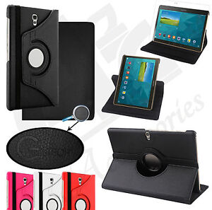 LUXURY-LEATHER-360-ROTATING-COVER-STAND-CASE-FOR-SAMSUNG-GALAXY-TAB-S7-Models