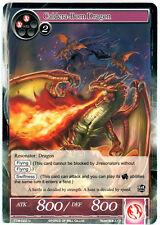 Caldera-Born Dragon - TTW-022 - U FOIL 1st edition Force of Will ~~~ MINT ~~~