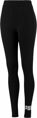 Puma Damen Fitnesstight Sporttight Leggings Essentials Damen-leggings Schwarz
