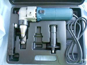 HEAVY DUTY ELECTRIC NIBBLER  3MM CAPACITY WITH 12 MONTHS AUSTRALIAN WARRANTY