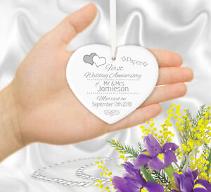 Personalised-30th-Wedding-Anniversary-Gift-or-ANY-YEAR-Hanging-Heart-Ornament