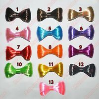 Synthetic Hair Bow Alligator Clip - Womens Girl Natural Lady Gaga Accessory -NEW