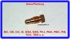 Solex-Pierburg Vergaser,Leerlaufdüse,idle jet,M8x1,NEU