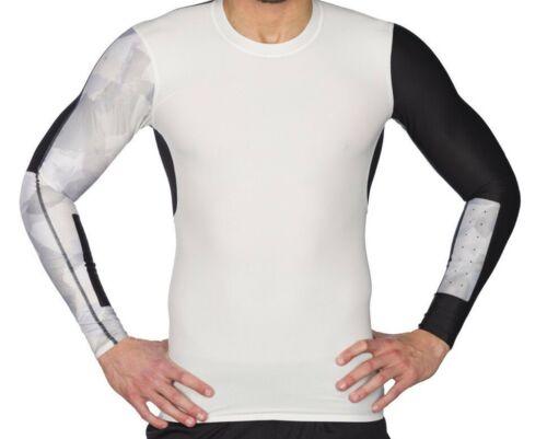 Ls Crossfit Reebok Camiseta 4057286672090 de M hombre compresiᄄᆴn color color para Chalk Bnwt wRqRIAx