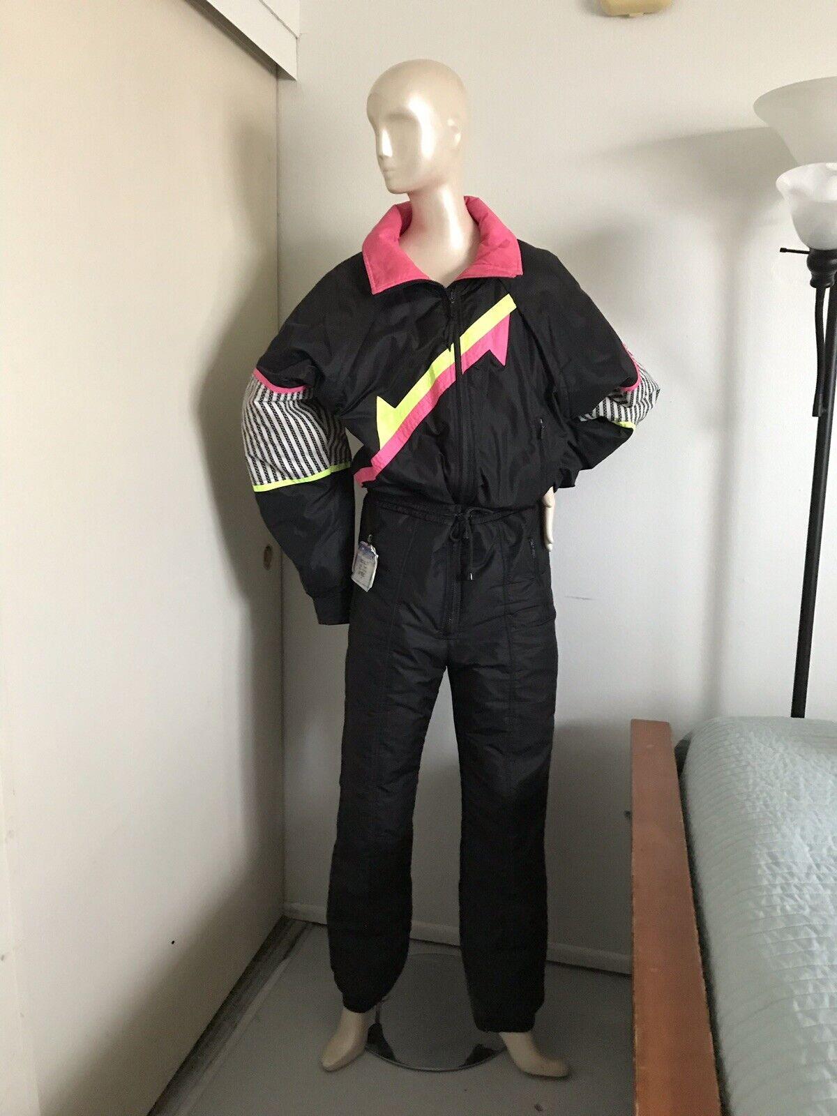 Vintage 80s 90s PEDIGREE One Piece SKI SUIT Snowsuit Größe 40