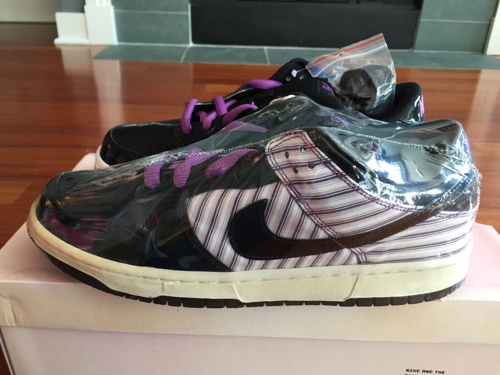 Nike SB Patent Avenger Dunk Purple Deadstock Size 11 (What the Dunk Jedi)