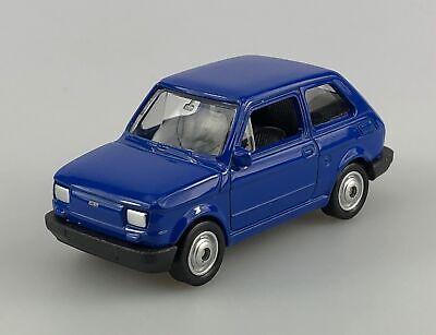 WELLY FIAT 125p BLUE 1:60 POLISH CLASSICS DIE CAST METAL MODEL NEW