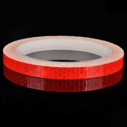 Reflektierendes Klebeband AUTO Intensität Selbstklebend Sicherheitsband 8M*1cm R