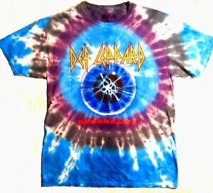 2ba28c0e7af Def Leppard T-Shirt 1992 Adrenalize USA Tour Tie Dye S M L XL 2X ...