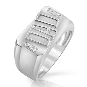 719bebd65d14a Father's Day Sterling Silver Diamond